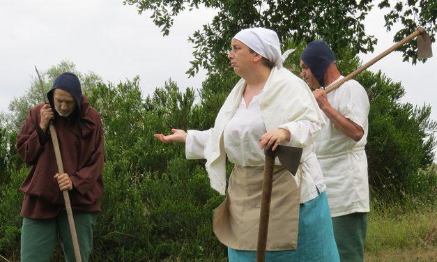 Preparação da Batalha de Aljubarrota evocada em espetáculo teatral