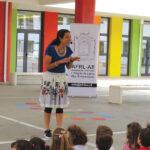 Crianças do Centro Escolar de Porto de Mós dançam músicas tradicionais do concelho