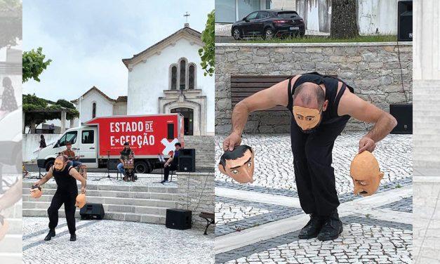 Iniciativa lembrou Batalha de Aljubarrota e levou arte a todas as freguesias do concelho