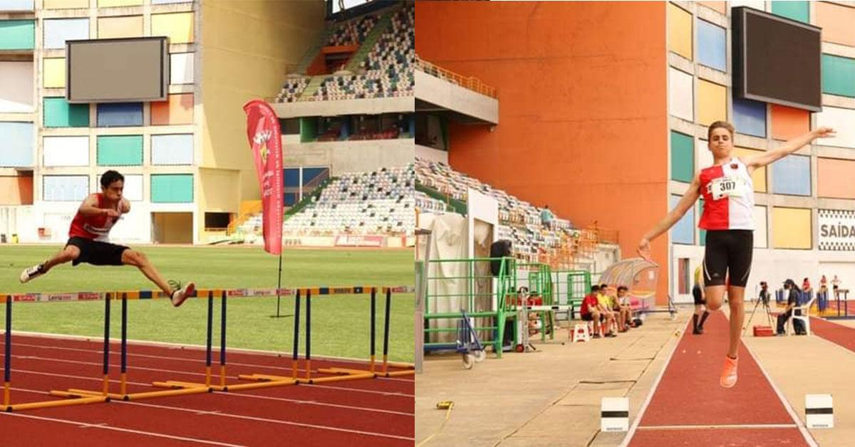 Irmãos prodígio no atletismo são presença constante nos pódios