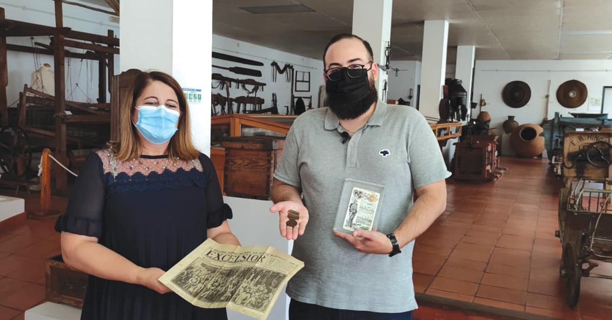 Lusodescendente doa artefactos da Primeira Guerra Mundial ao Museu de Porto de Mós