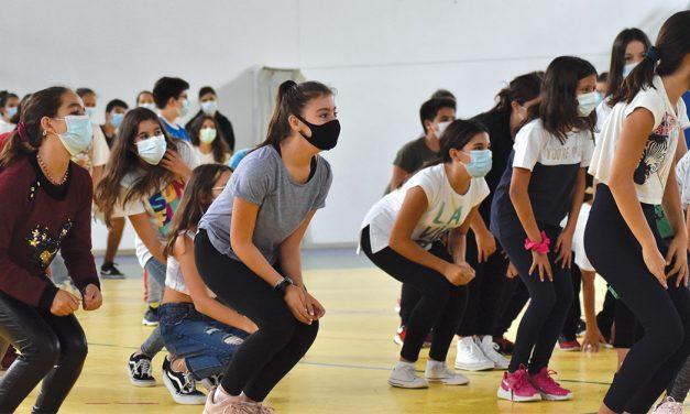 Instituto Educativo do Juncal contou com presença olímpica