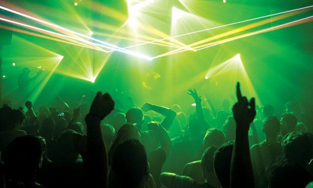 Som, luzes, que comece a dança!